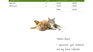 PetSittingInvoice